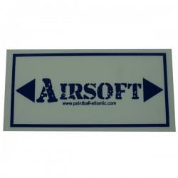 Panneau Flechage Airsoft