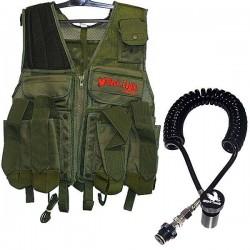 giacca pacco tattica oliva + mamba