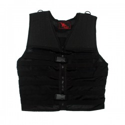 Gilet tactique airsoft Bravo Black Eagle Corporation Black