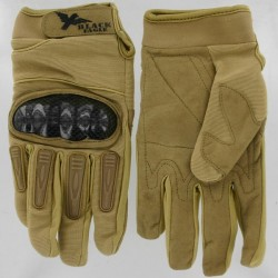 Airsoft Mil Star Tan Gloves BE M