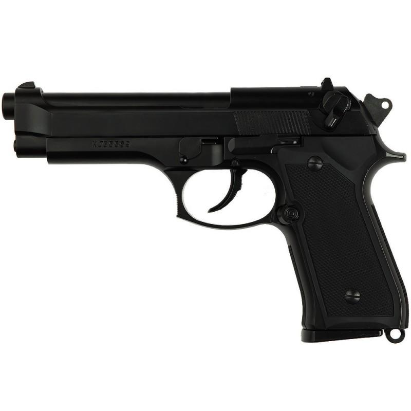 Réplique de poing, Gaz, M9 HW métal, hop-up, noir