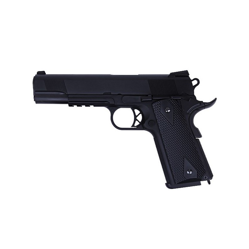 Replique airsoft Colt 1911version B - 2 Chargeurs - WE