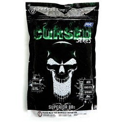 Billes Airsoft 6 mm BB CURSED series 0,25g, 4000 pcs. bag