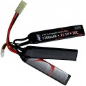 Batterie airsoft 11,1V 1300 mAh, LI-PO, sticks