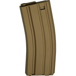 ASG 17127 Magazine Low Cap AEG 10 pcs M15/M16 85 rounds tan