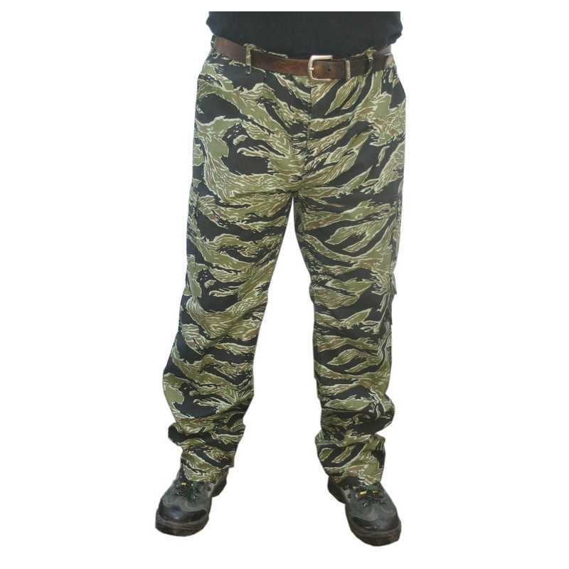 Pantalon Tactical Tiger Stripe Taille Xl [Black Eagle]