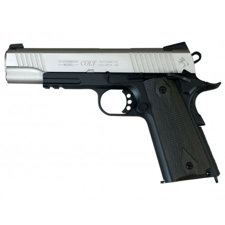 Colt 1911 Stainless Dual Tone CO2