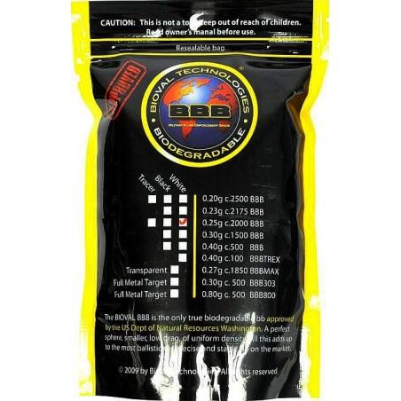 Billes BIOVAL BIO Blanche 0,25gr sac de 1kg