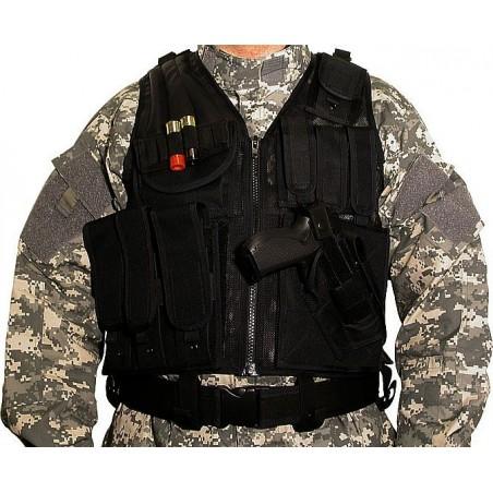 Veste SWISS ARMS Tactique BT-4 noir
