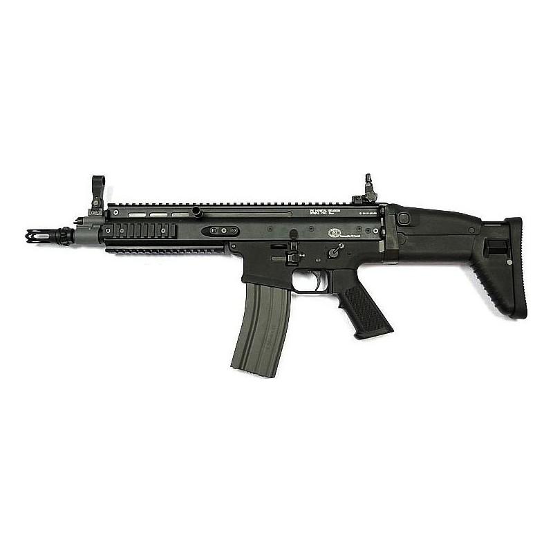 FN SCAR noir electrique