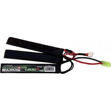 SWISS ARMS LiFe 9,9V 1.200mAh 20C stick triple