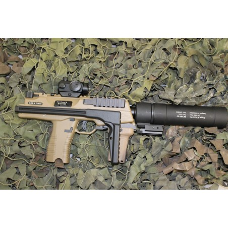 ASG MP9 GBBR CUSTOM - TAN
