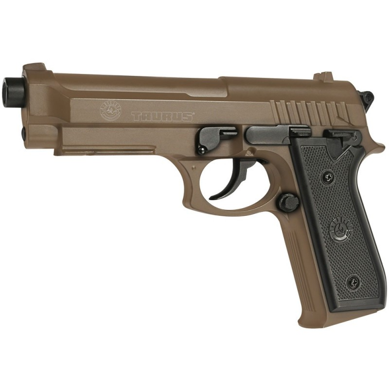 TAURUS PT92 HPA Tan manuel 6mm Culasse metal 12BB's