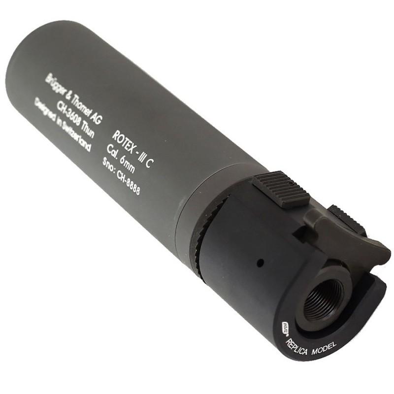 B&T ROTEX - III C Barrel extension tube, grey 17314