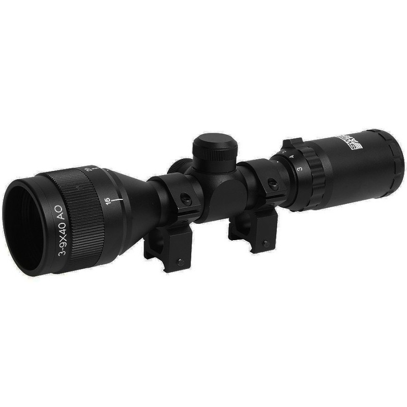 Lunette 3-9x40 waterproof compact scope