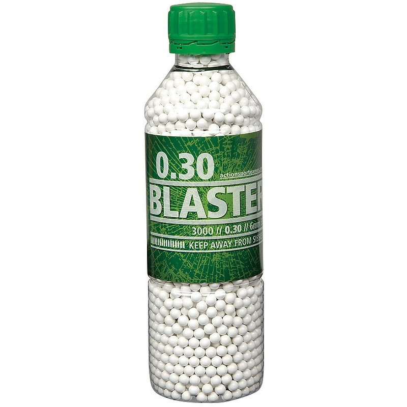 Blaster 0,30g Airsoft BB -3000 pcs. in bottle