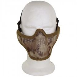 Airsoft Strike Half Face Tactical Military Bravo Strike Wire Mesh MaskDesert