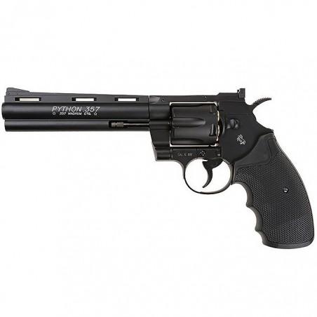 COLT PYTHON 357 noir 6 '' Co2 full metal 6 mm 6 BB's