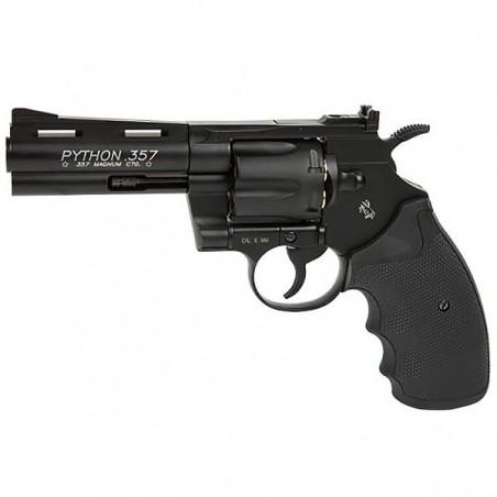 COLT PYTHON 357 noir 4 '' Co2 6 mm Douilles Plastique 6BB's