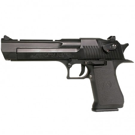 DESERT EAGLE Co2 6 mm C. Mobile 21 BB's (chargeur court)
