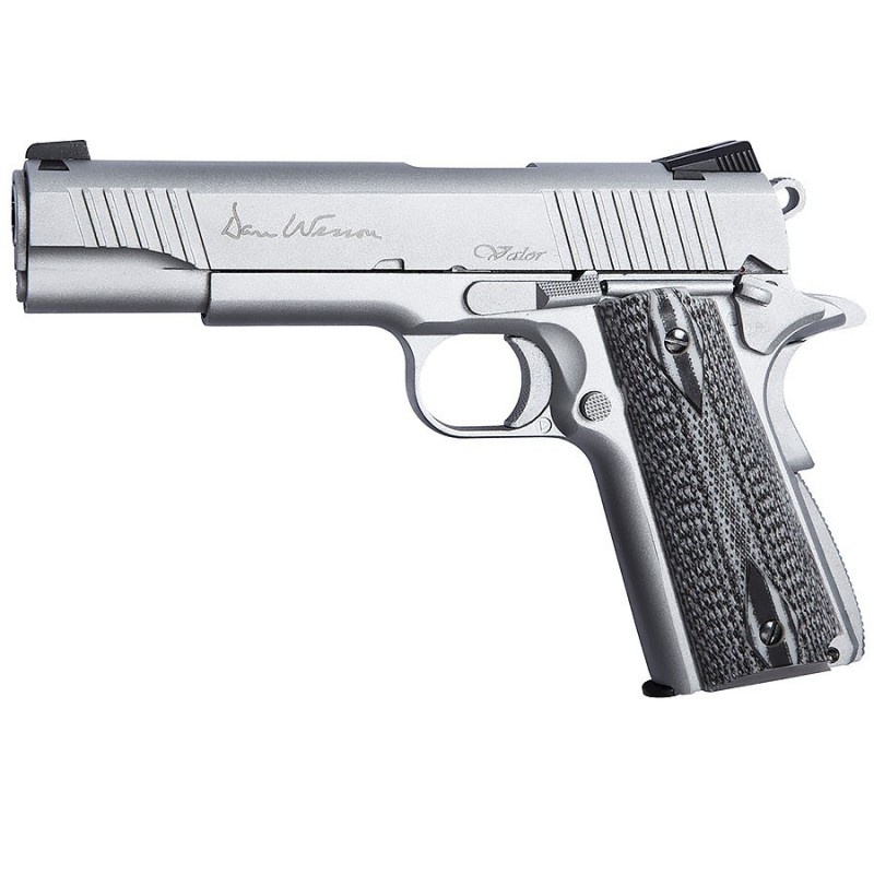 Pistolet CZ Dan Wesson Valor 1911 Silver Co2 Full Metal Blowback ASG - 18528 Original: http://www.destockage-games.com/catalogue