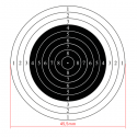 10m international air rifle shooting target, 50pcs
