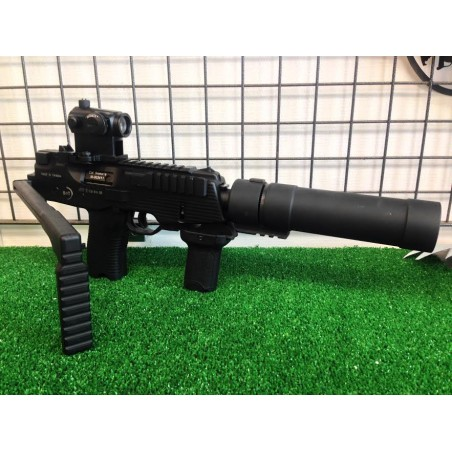 ASG MP9 DEEP BLACK GBBR - NOIR