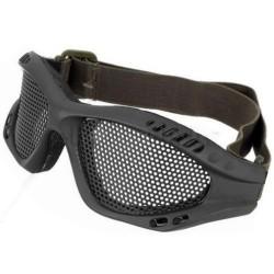 lunette grillagee noir