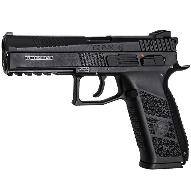 Airsoft pistol, GBB, CZ P-09, Black