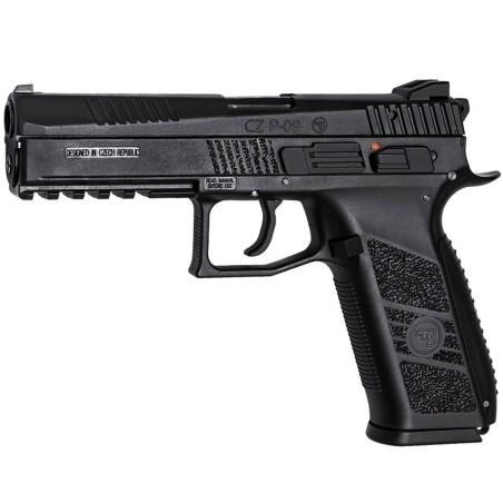 Airsoft pistol, GBB, CZ P-09, Black 18116