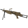 FN M249 PARA Dark Earth metal electrique 6mm +AMOBOX
