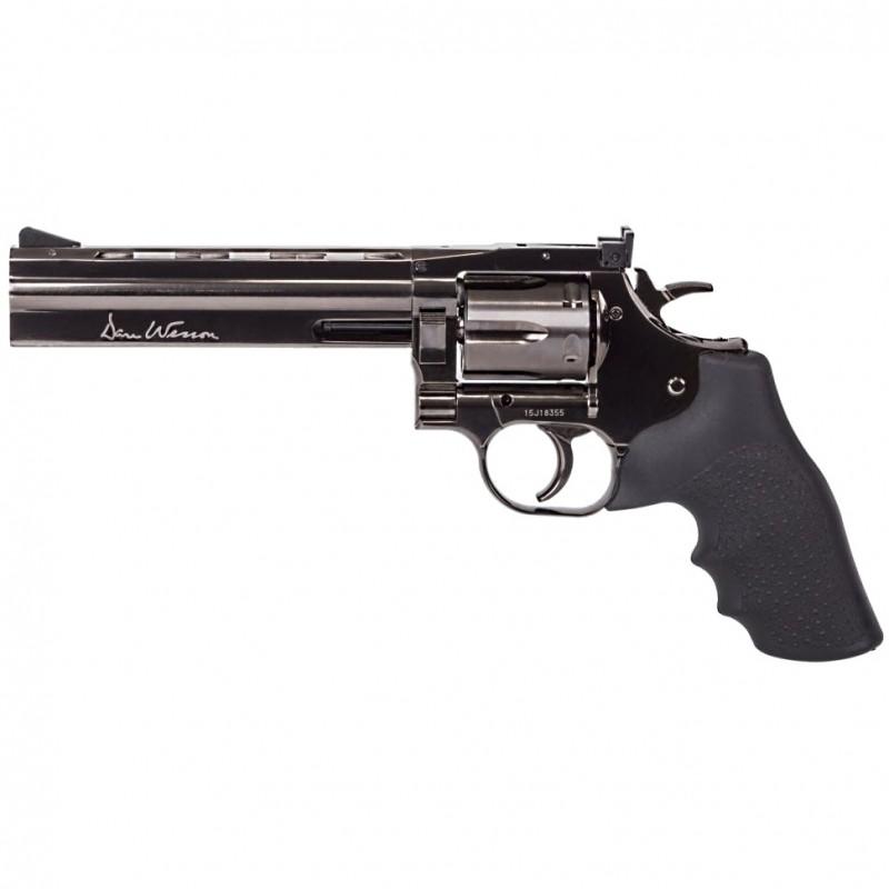 "Revolver, GNB, CO2, DW 715, 6"", steel grey"