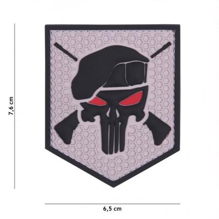 Patch 3D PVC Commando grey