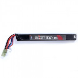 Batterie 11,1V 900 mAh, LI-PO, single stick
