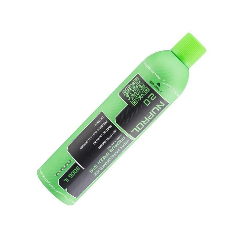 GAZ BOUTEILLE 2.0 PREMIUM GREEN GAZ 1000 ml NUPROL