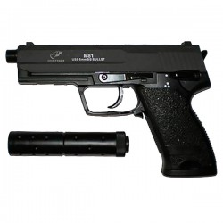 airsoft AEP USB AVEC SILENCIEUX DOUBLE EAGLE (M81)