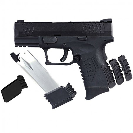AIRSOFT ULTRA COMPACT 3.8 BLACK PISTOLET GBB WE-X002-B
