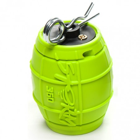 Grenade airsoft Storm 360 ASG, vert fluo