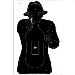 PAPER TARGET SHOOTER 40x60
