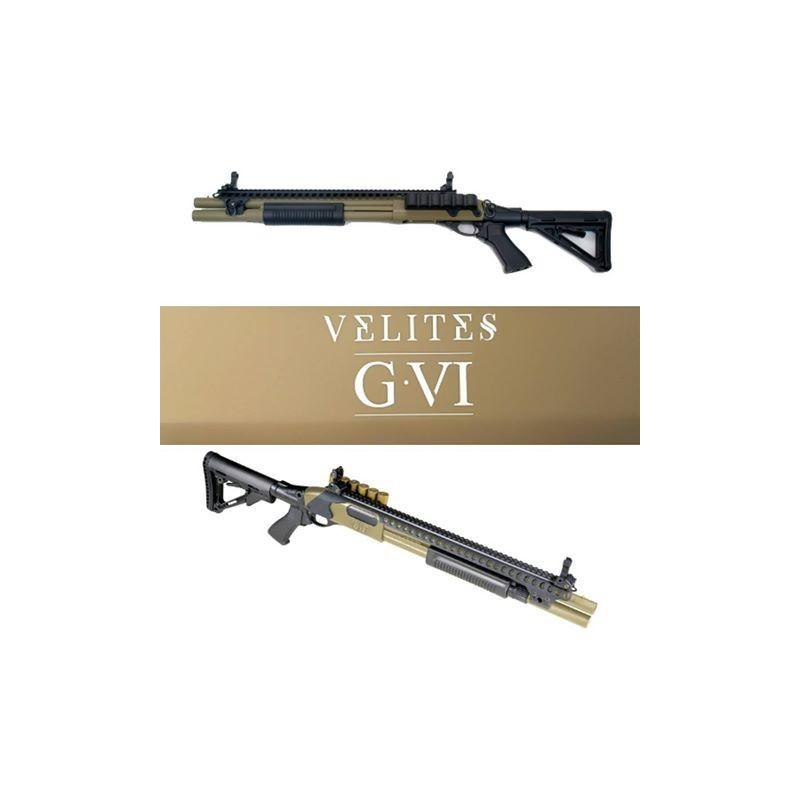 FUSIL A POMPE VELITES G-VI TAN SECUTOR