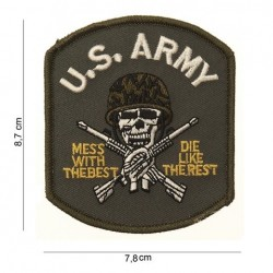 "Patch  ""  3 US army (crane)"""