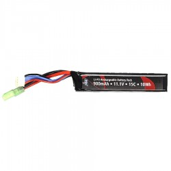 Batterie, 11.1V, 900 mAh, LI-PO, Single Stick