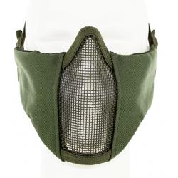 Metal Mesh pad with cheek pad Green