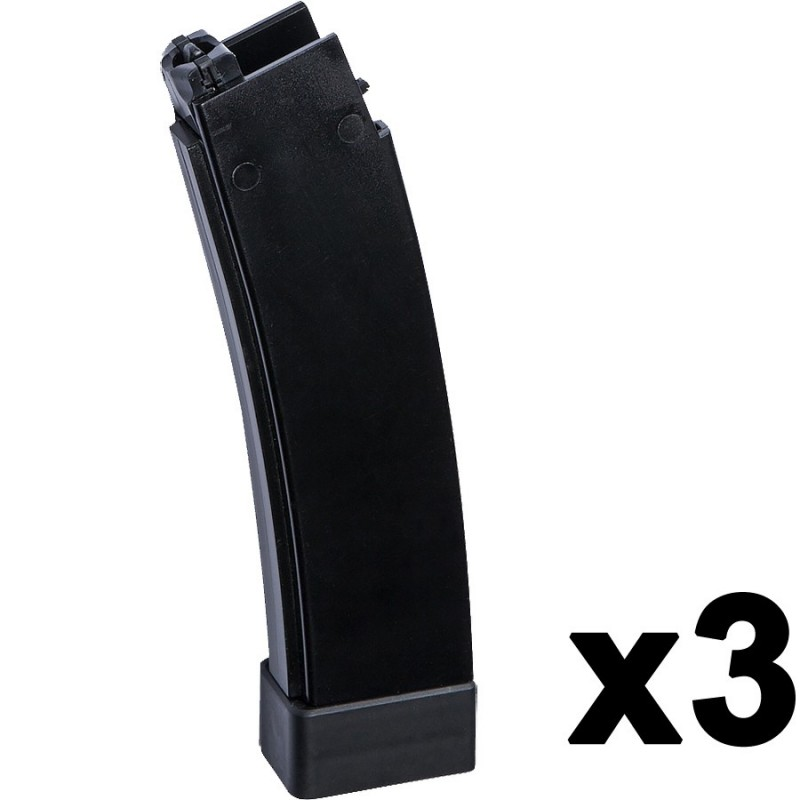 Magazine airsoft AEG Scorpion EVO 3 - A1, 75rds, 3-pack