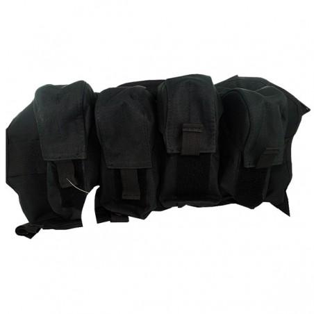 Harnais tactic GI Black à bretelles