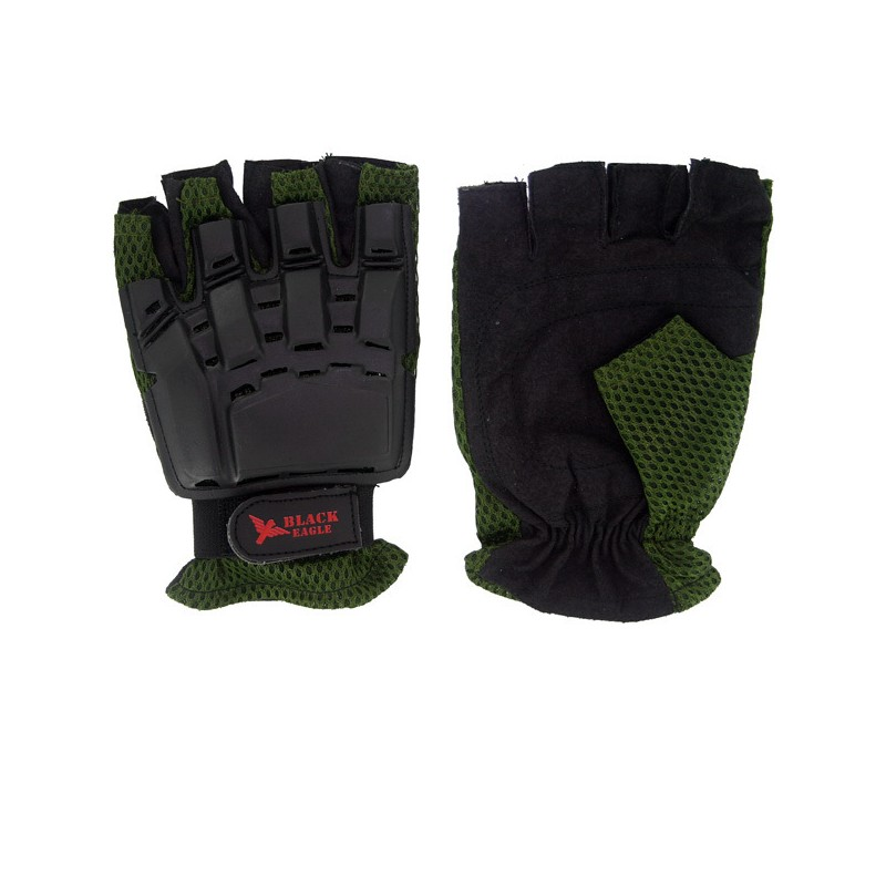 Mitaines Vexor Green M AIrsoft Paintball [Black Eagle Corporation]